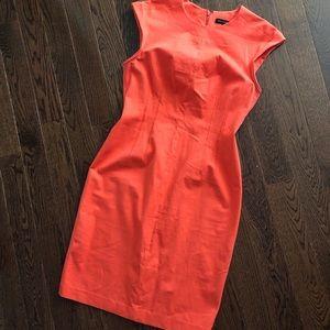 BANANA REPUBLIC Cotton Stretch Sheath Dress